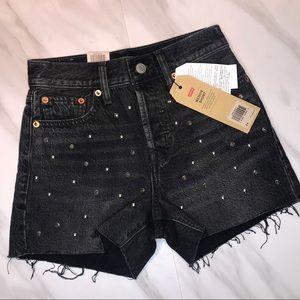 NWT Levi's Studded Shorts